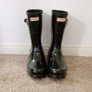 Hunter Shoes - Hunter Original Short Gloss Rain Boots